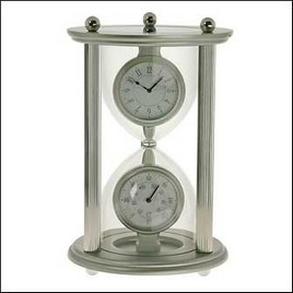"2800025 - Часы ""Hour Glass"" silver"